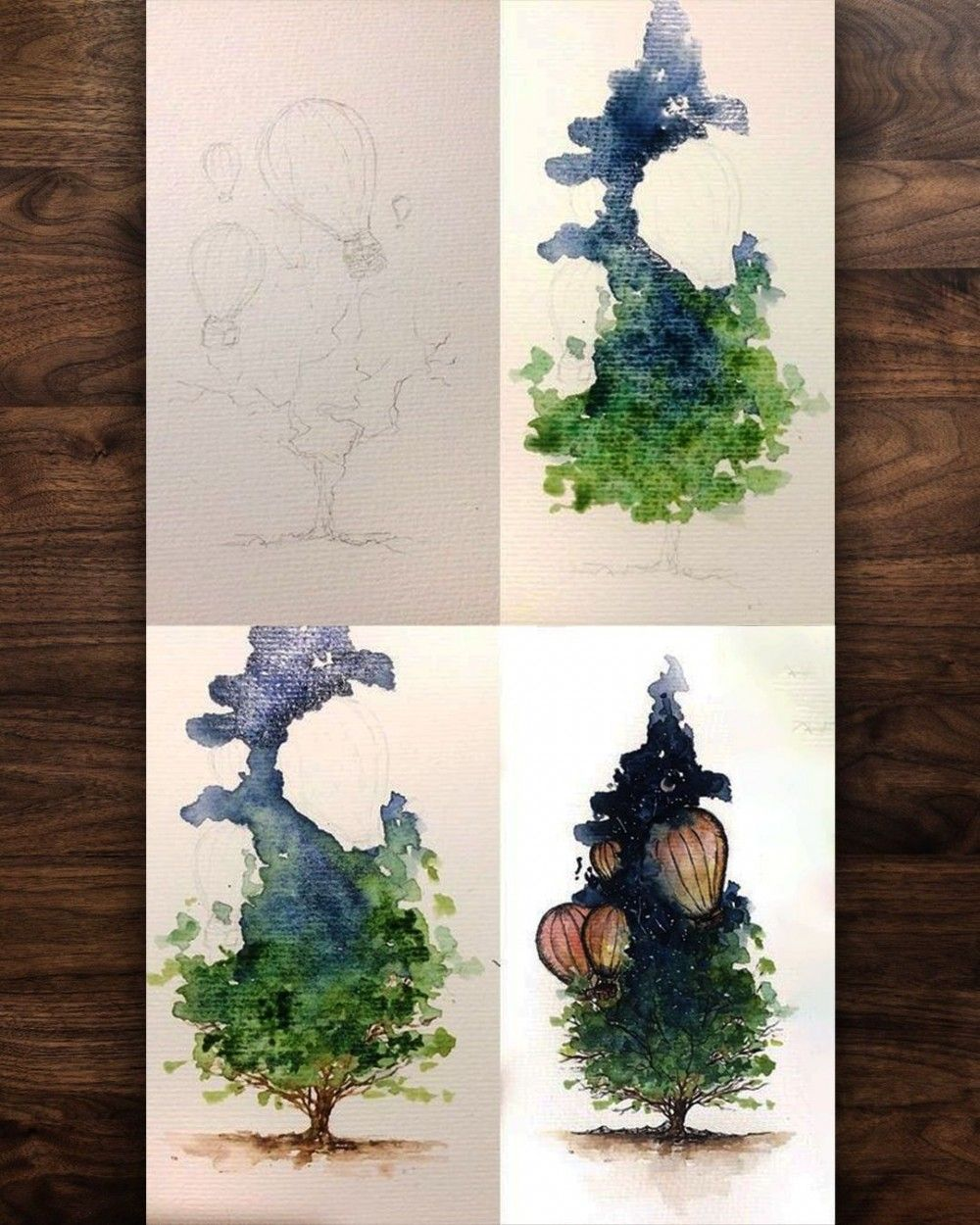 The World S Largest Database For Watercolor Illustration