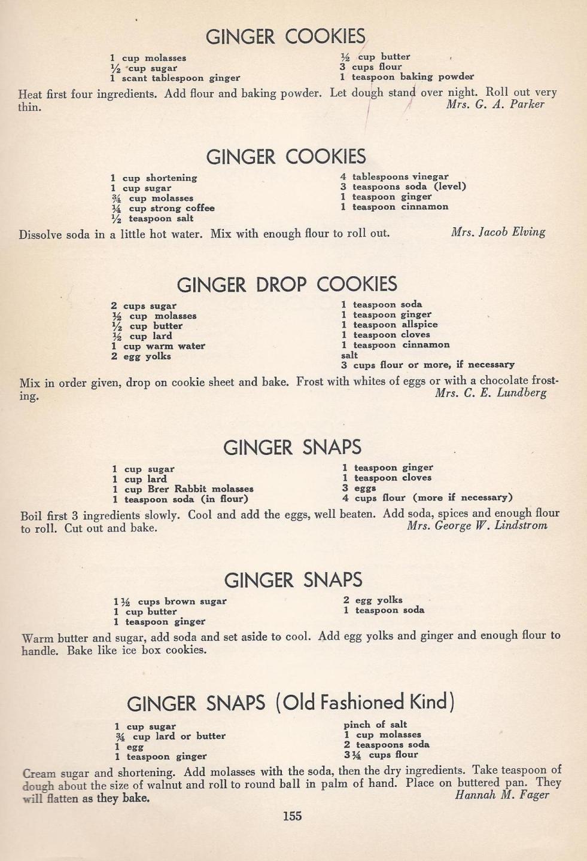 Vintage Cookies18 Vintage Recipes Cookie Recipes Vintage Cookies
