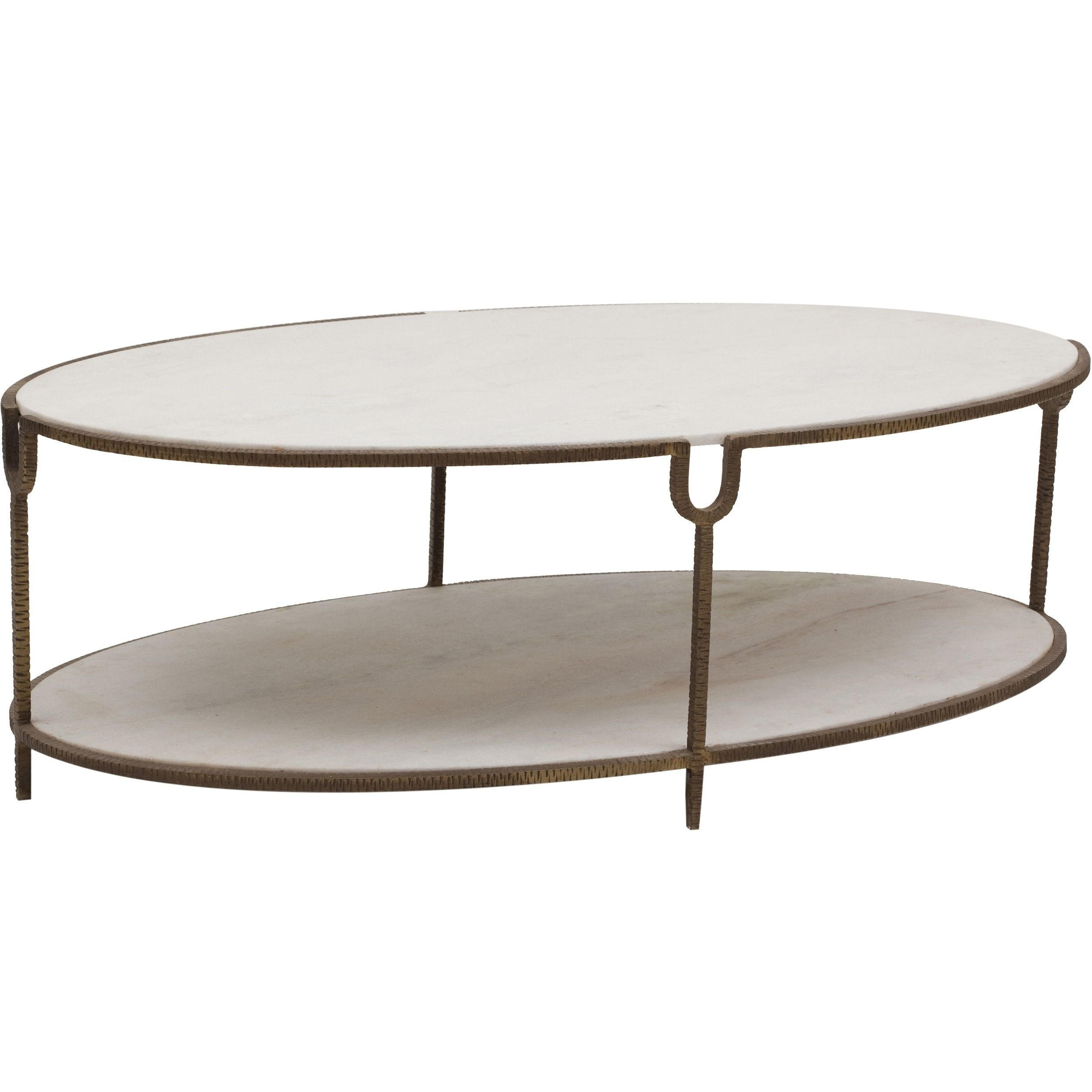 Iron And Stone Oval Coffee Table - Furniture - Accent Tables - Coffee Tables - Best  sc 1 st  Pinterest & Iron And Stone Oval Coffee Table - Furniture - Accent Tables ...