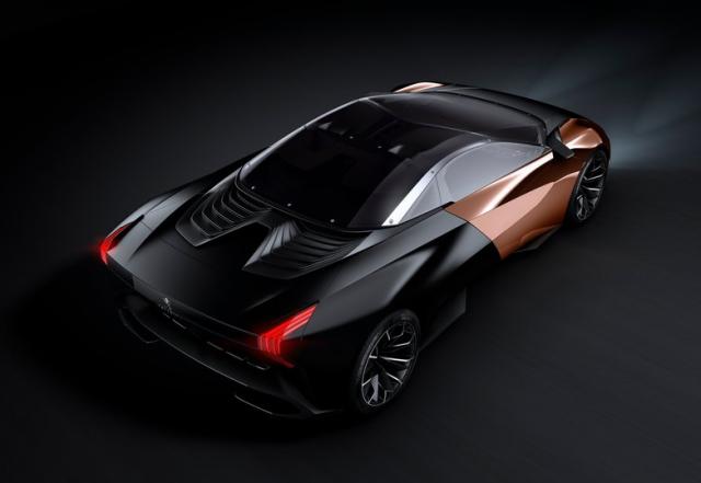 "Peugeot New Concept Car ""Onyx"""