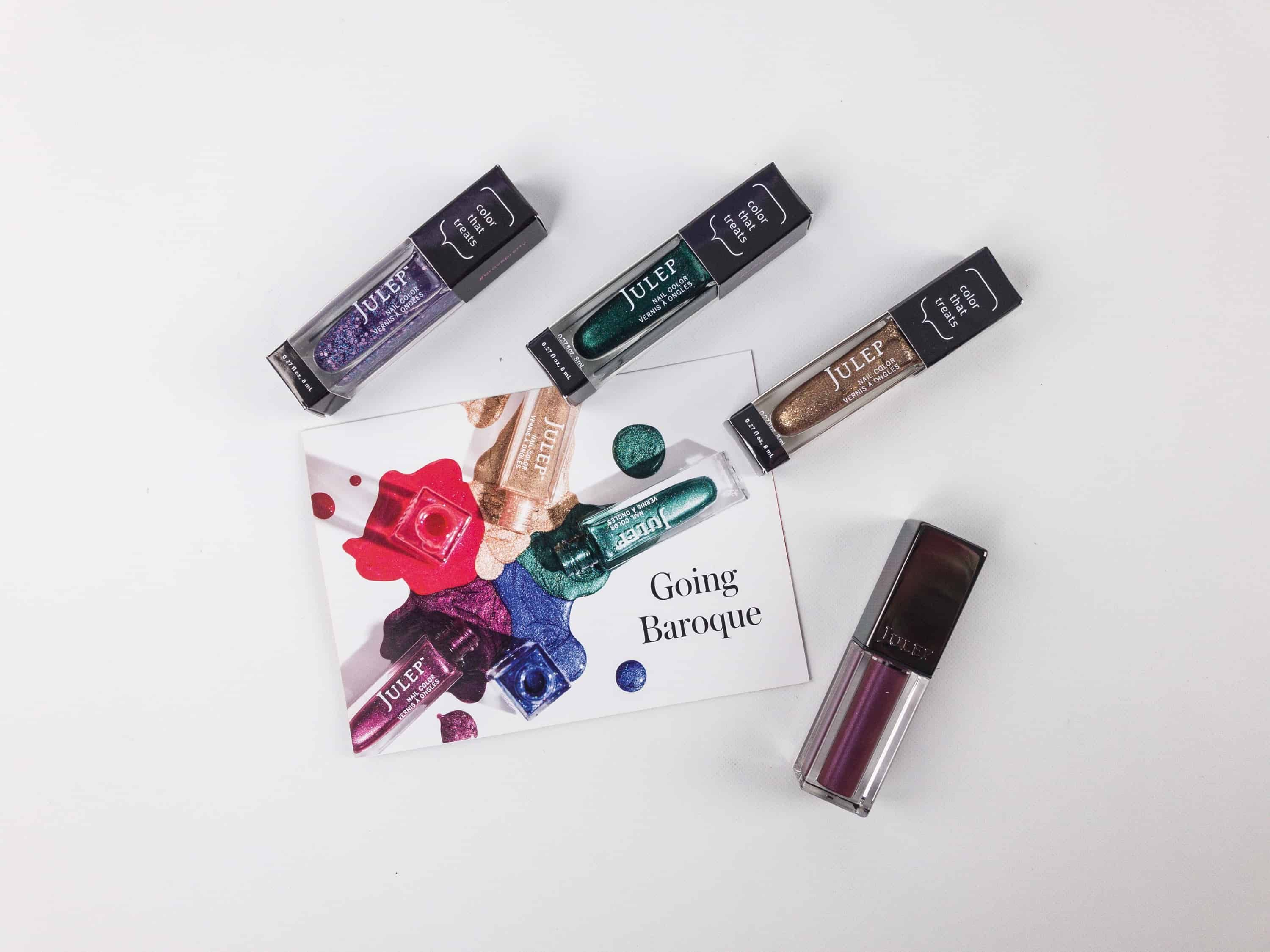 Three nail polish colors + a lip mousse were included in my December ...