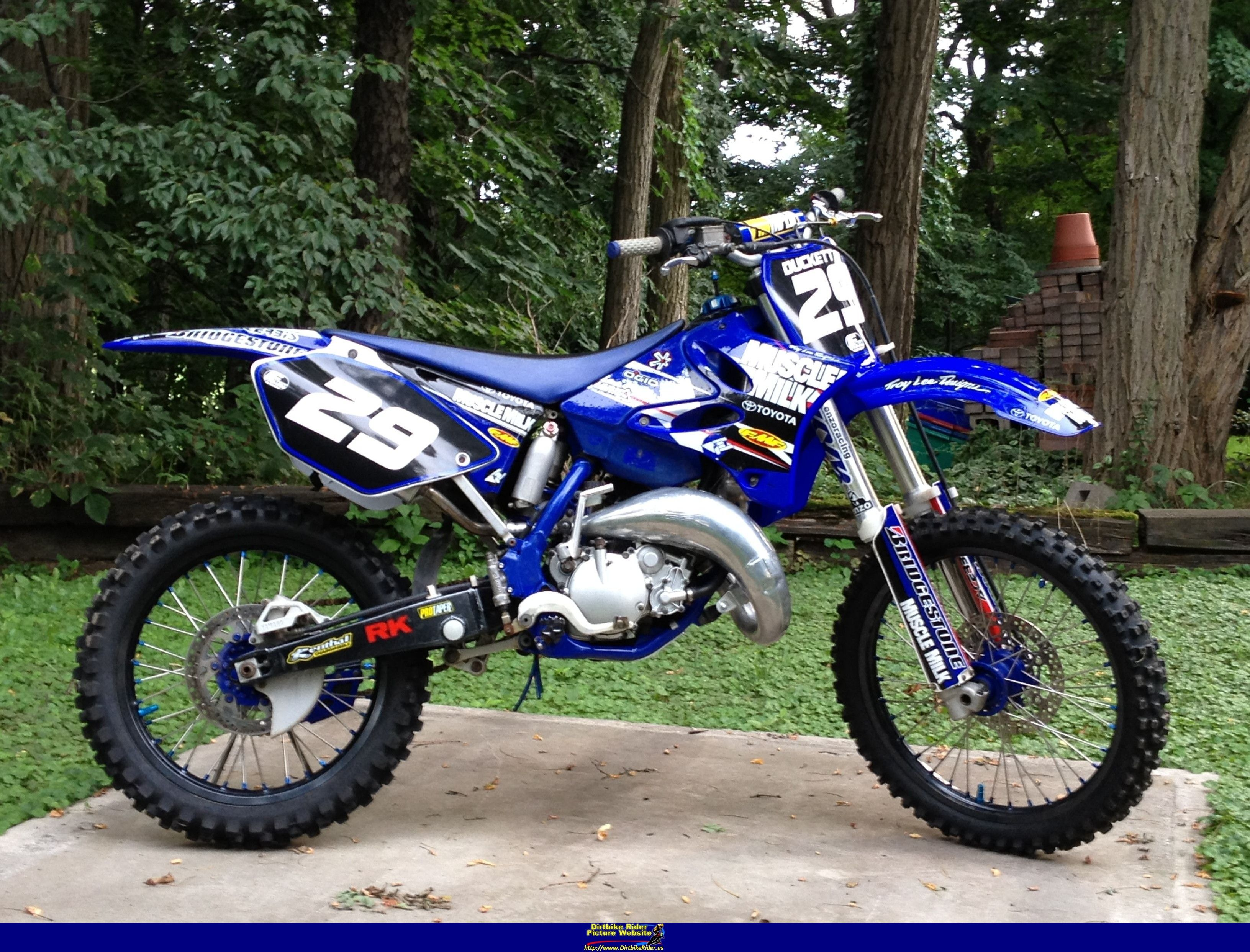 2002 Yamaha Yz125 Yamaha Motocross Dirt Bike Gear Dirtbikes