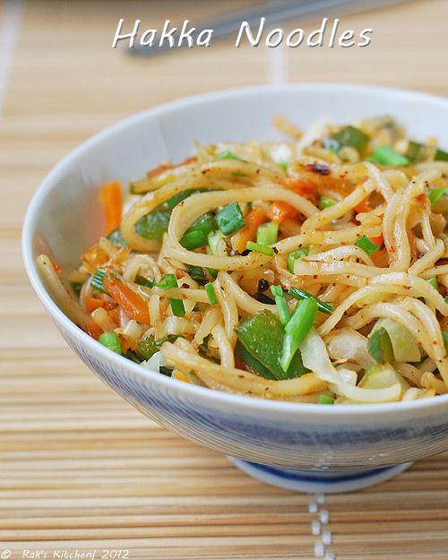 Vegetable Hakka Noodles Recipe How To Make Hakka Noodles