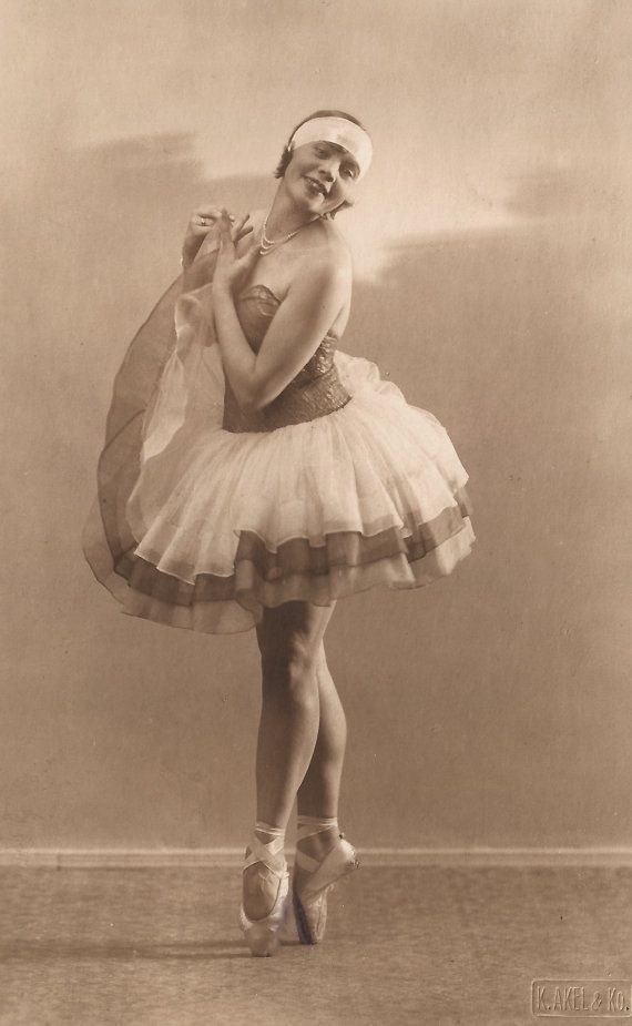 The Flapper Ballet Dancer… 1920s Original Vintage RARE Real Photo ...