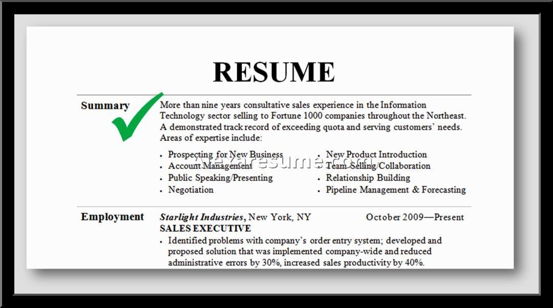 for marketing resume professional summary examples nursing