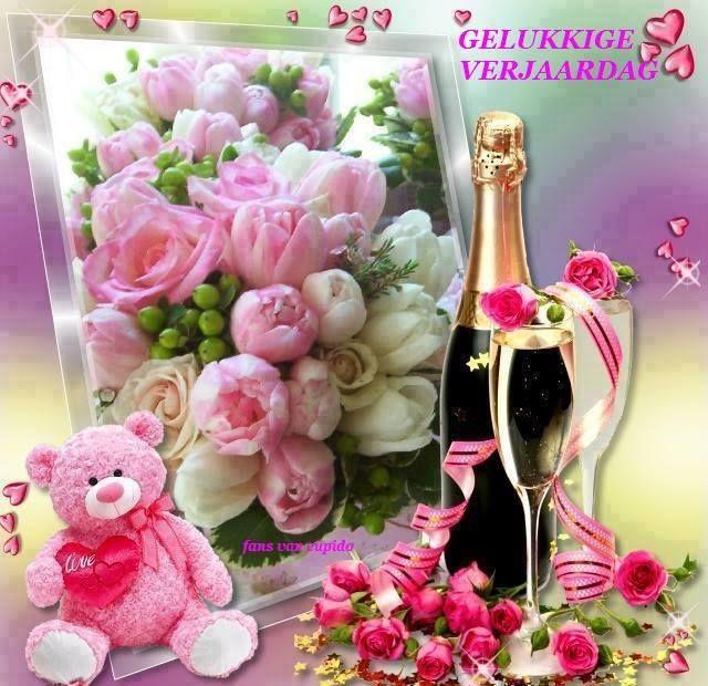 Afbeeldingsresultaat Voor Verjaardagswensen Vrouw Champagne