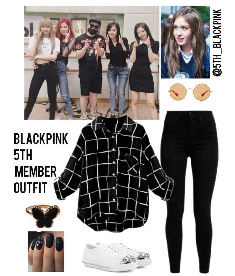 Blackpink Outfit Ideas: Blackpink- Radio KBS Cool FM Moon Heejun Music Show Outfit