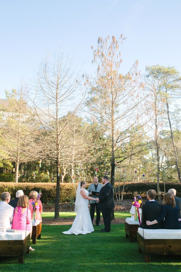 Intimate Colorful Wedding At Watercolor Resort Weddings Idea