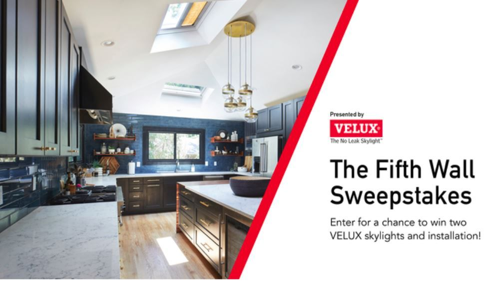 Enter for a chance to win a fifth wall makeover with