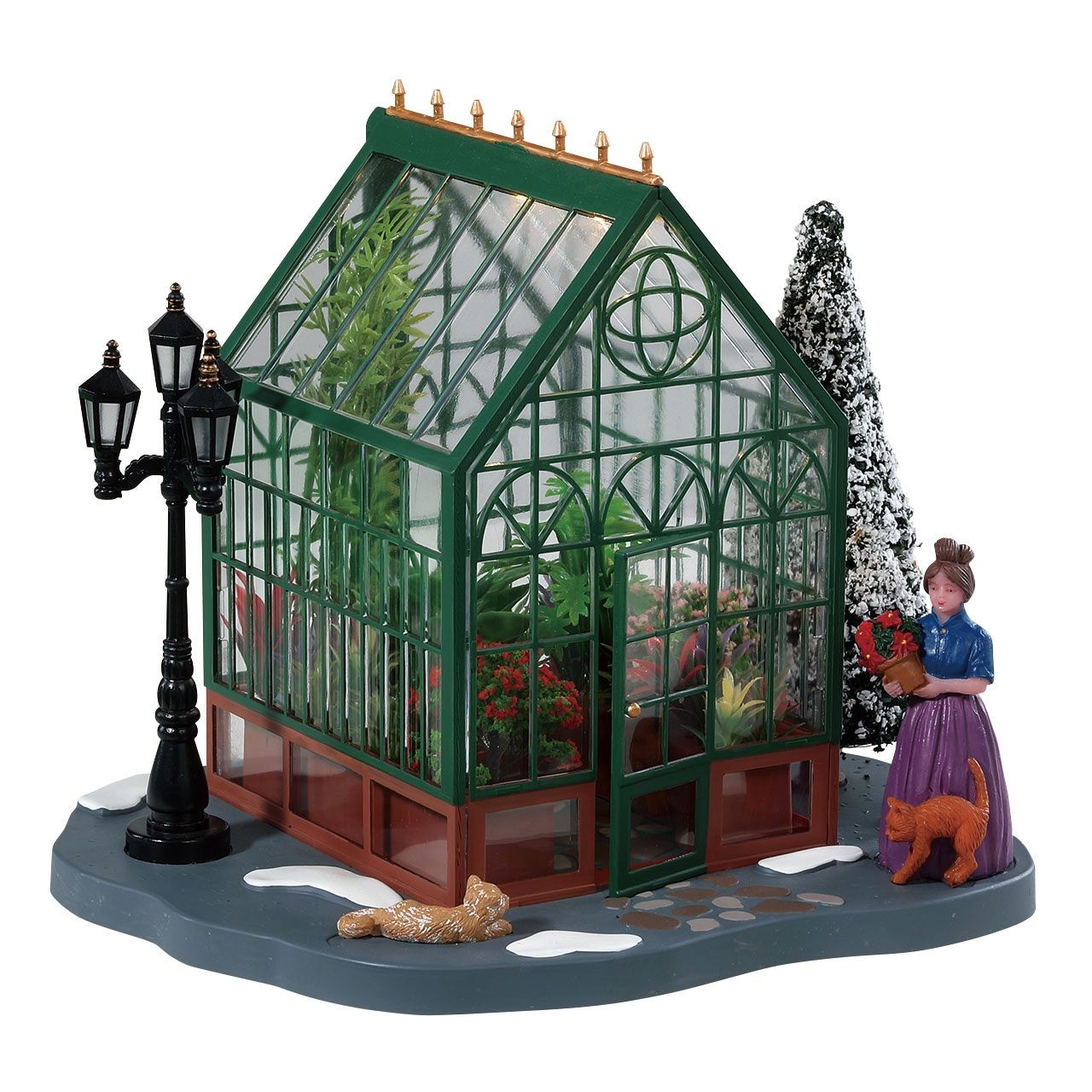 Victorian Greenhouse Victorian greenhouses, Christmas