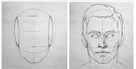 Forma Basica Para Dibujar Rostros A Lapiz Paso A Paso 2 Dibujar Rostros Aprender A Dibujar Rostros Pasos Para Dibujar Rostros
