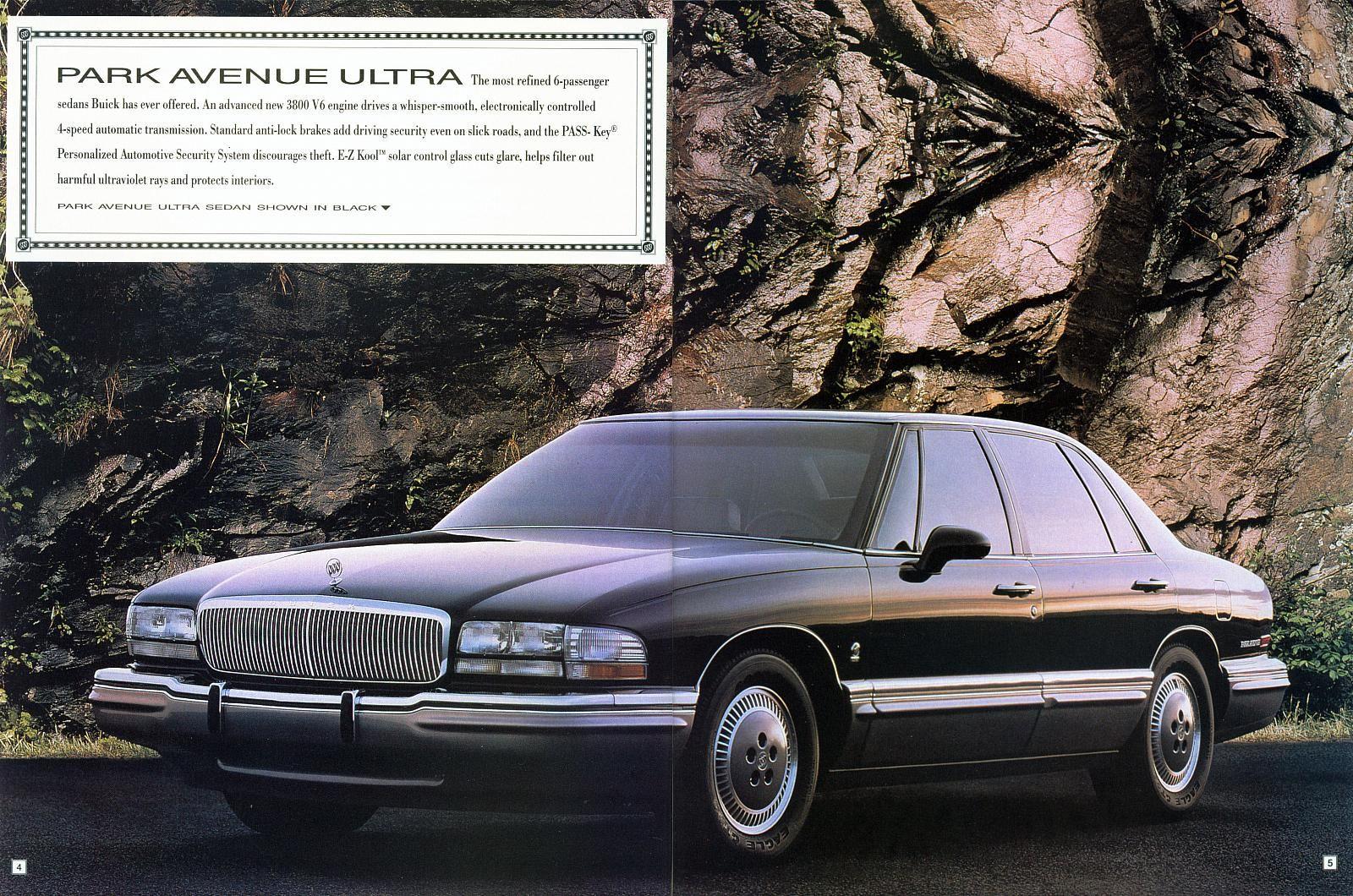 Buick Park Avenue Ultra Sedan Buick And Beyond