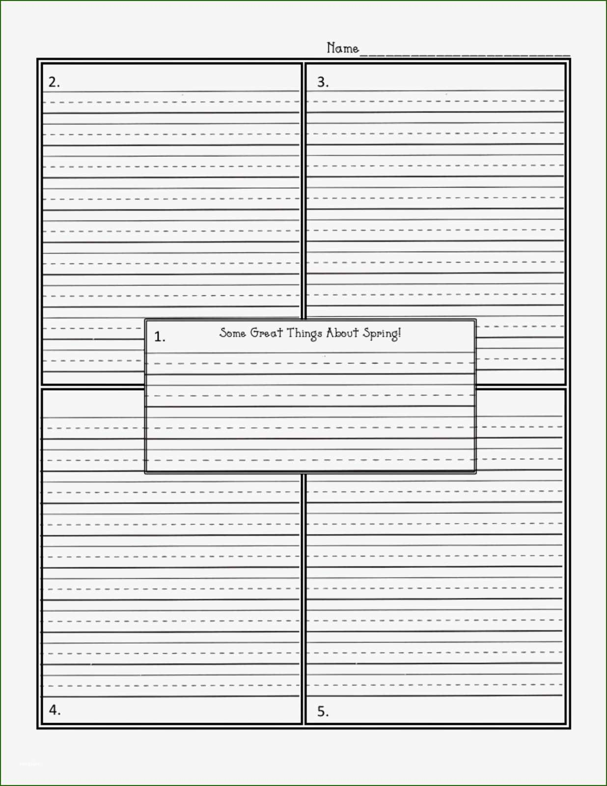 4 Square Writing Template 9 Plan Of 2020 In 2020 Four Square Writing Writing Templates Writing Worksheets