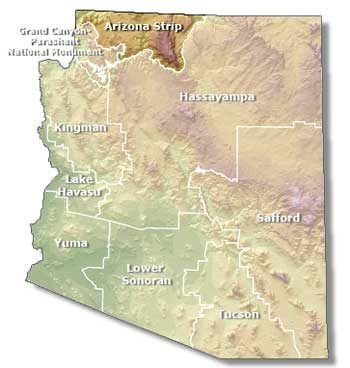 Map Of Arizona Strip.The Arizona Strip Map And Most Of The Other Roads In The Arizona