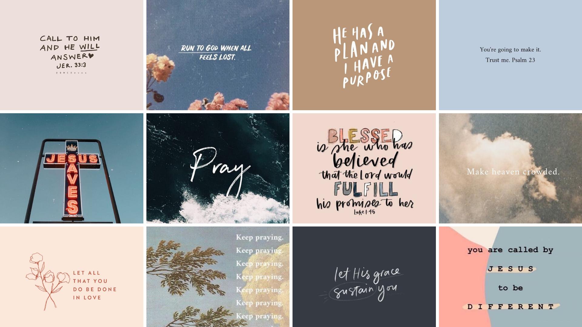 Christian Desktop Wallpaper In 2021 Bible Verse Desktop Wallpaper Jesus Wallpaper Inspirational Desktop Wallpaper