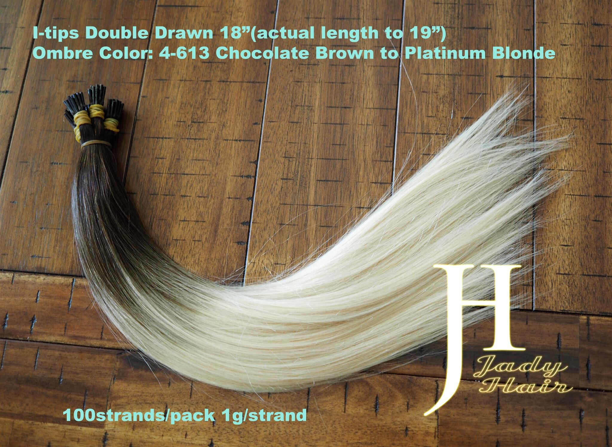 I Tip Hair Extensiondouble Drawn 18actual 19 100 Remy Hair