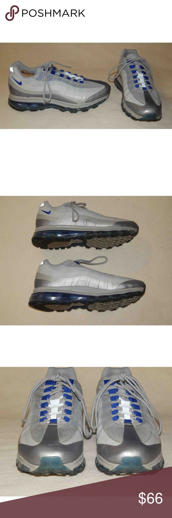 7c9f8c3b5af7 Nike Air Max Mens 10.5 Running Shoes Nike Air Max (+) 95 BB Running ...