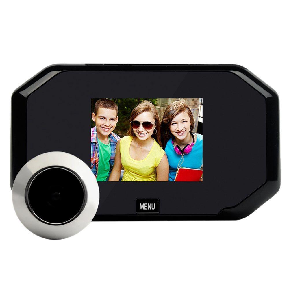 Door Viewers 4.3-inch Lcd Digital Video Door Peephole Doorbell Camera Infrared Night Vision 145 Degrees Smart Doorbell Camera