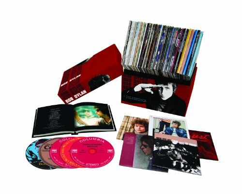 The Complete Album Collection V.1  The Bob Dylan Complete Album Collection Vol. One is a colossal box set encompassing the entire official discography of the American songwriter-performer who's revolutionized folk, pop and rock music over the past half century with a profoundly influential catalog of songs and sounds.    Beginning with tracks recorded for his eponymous 1962 Columbia Records debut album, the Bob Dylan Complete Album Collection Vol. One follows Dylan's restless transfo..