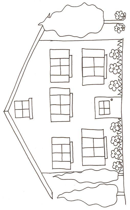 du0027une maison dessin 2