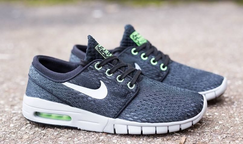 Understated Cool Nike SB Stefan Janoski Max – Black / Wolf Grey :  http://sneakers.basket4ballers.com/training/5492-sneakers-homme-nike-stefan -janos…