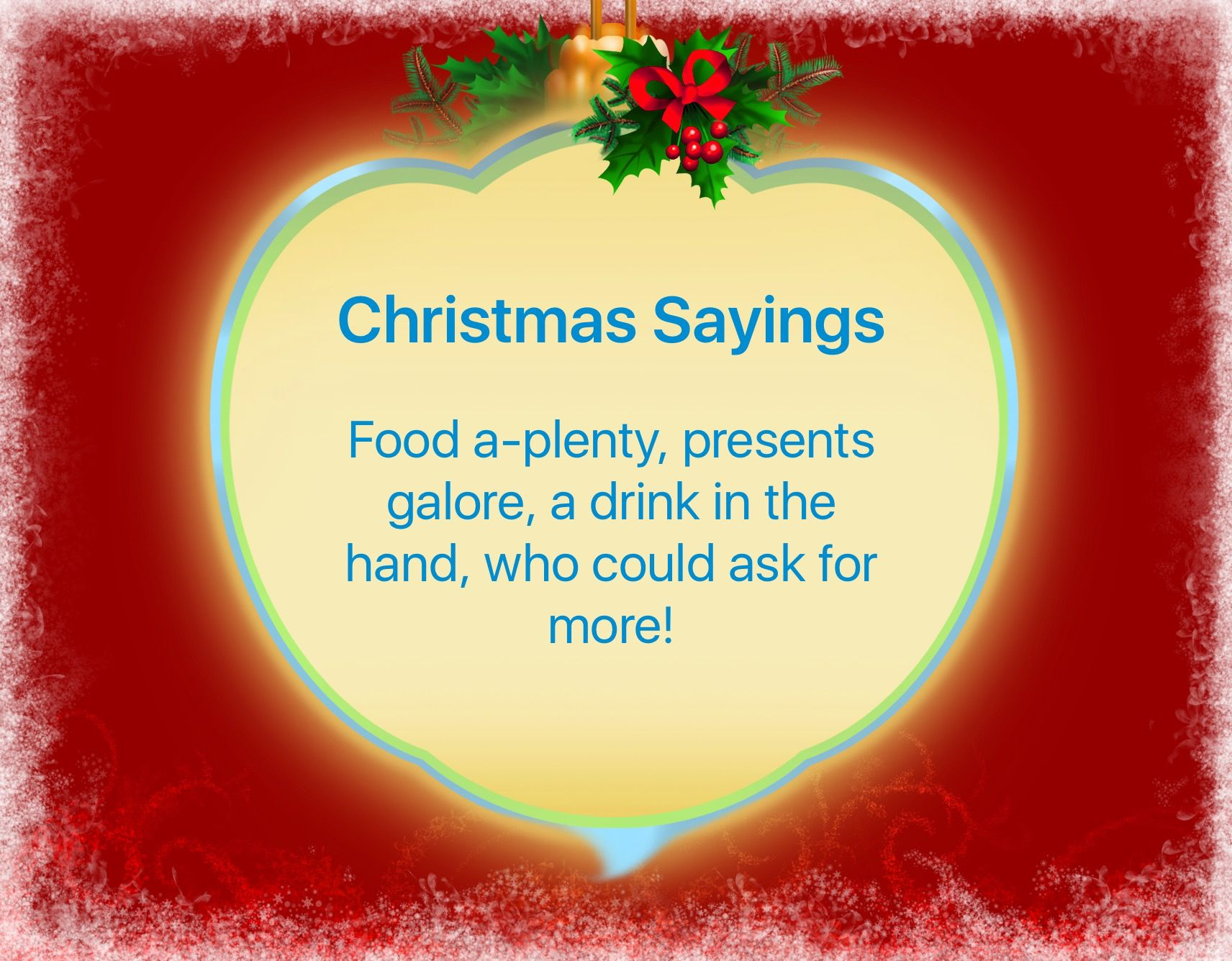 15 days until Christmas! ☃
