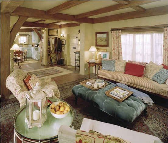 Englischen Cottage Wohnzimmer   Loungemöbel