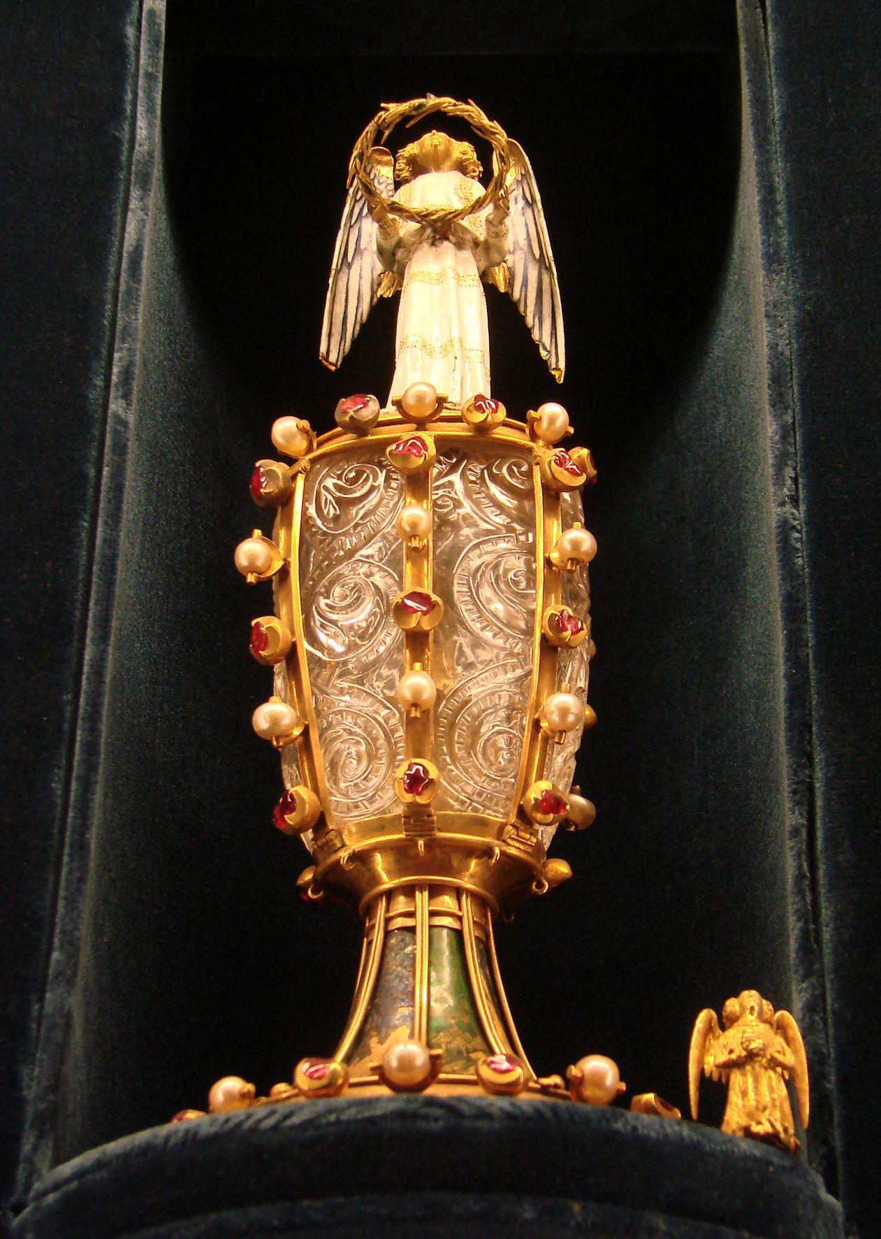 Reliquaire de la Sainte Épine - Palais du Tau, Reims – Par Vassil, domaine public
