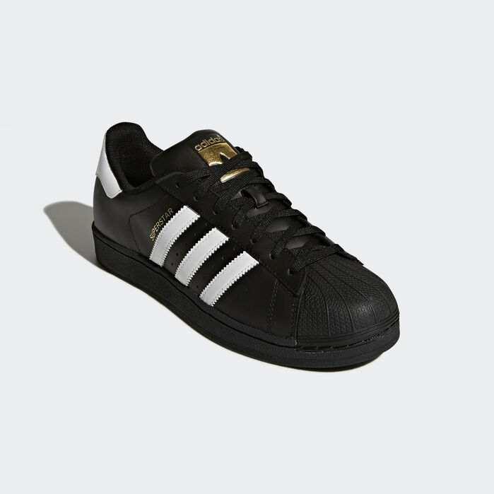 Superstar Foundation Shoes Black 10.5 Mens | Adidas