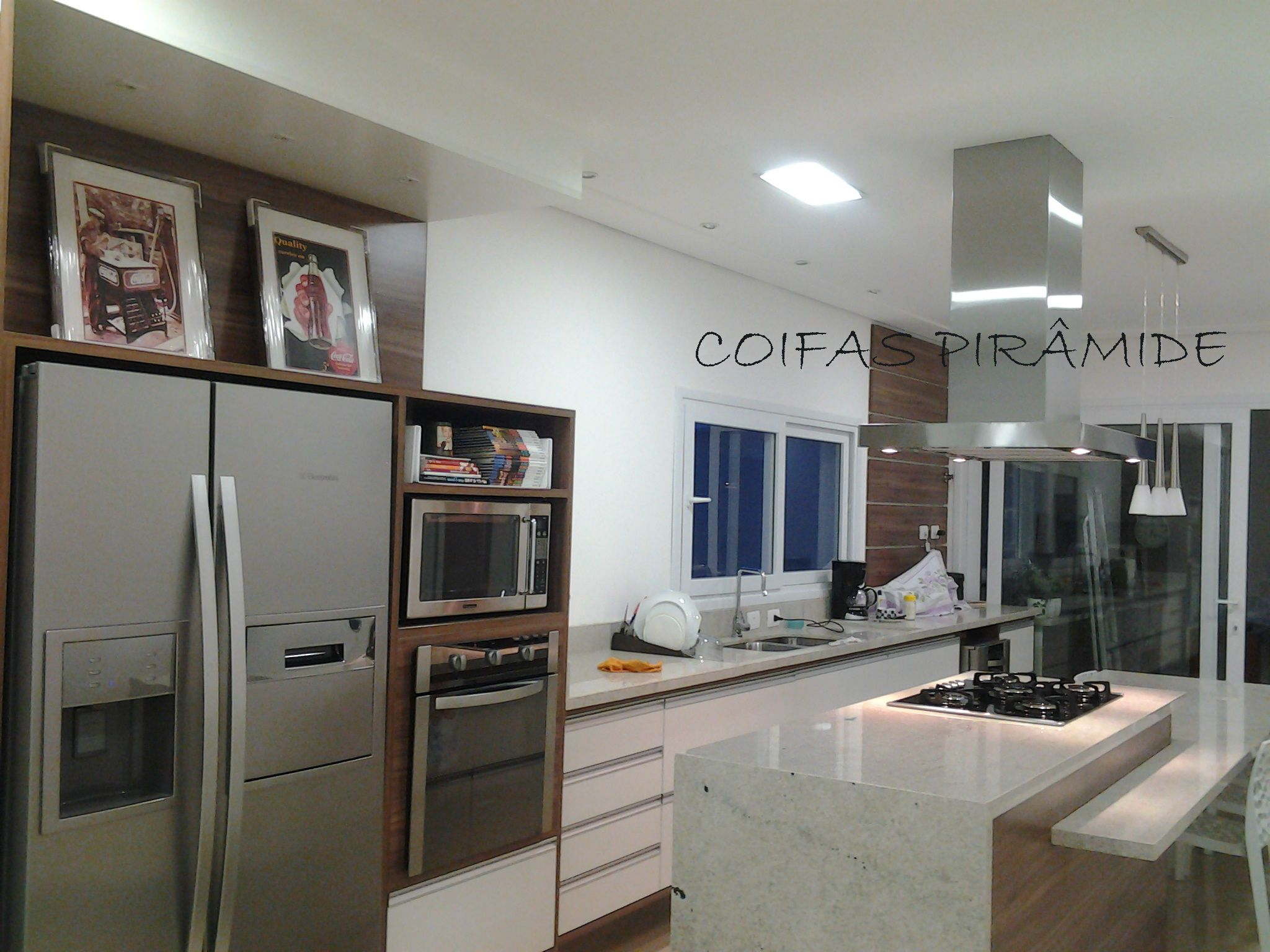 picture of small kitchen designs coifas pir 226 mide coifas sob medida ilha cozinha 7436