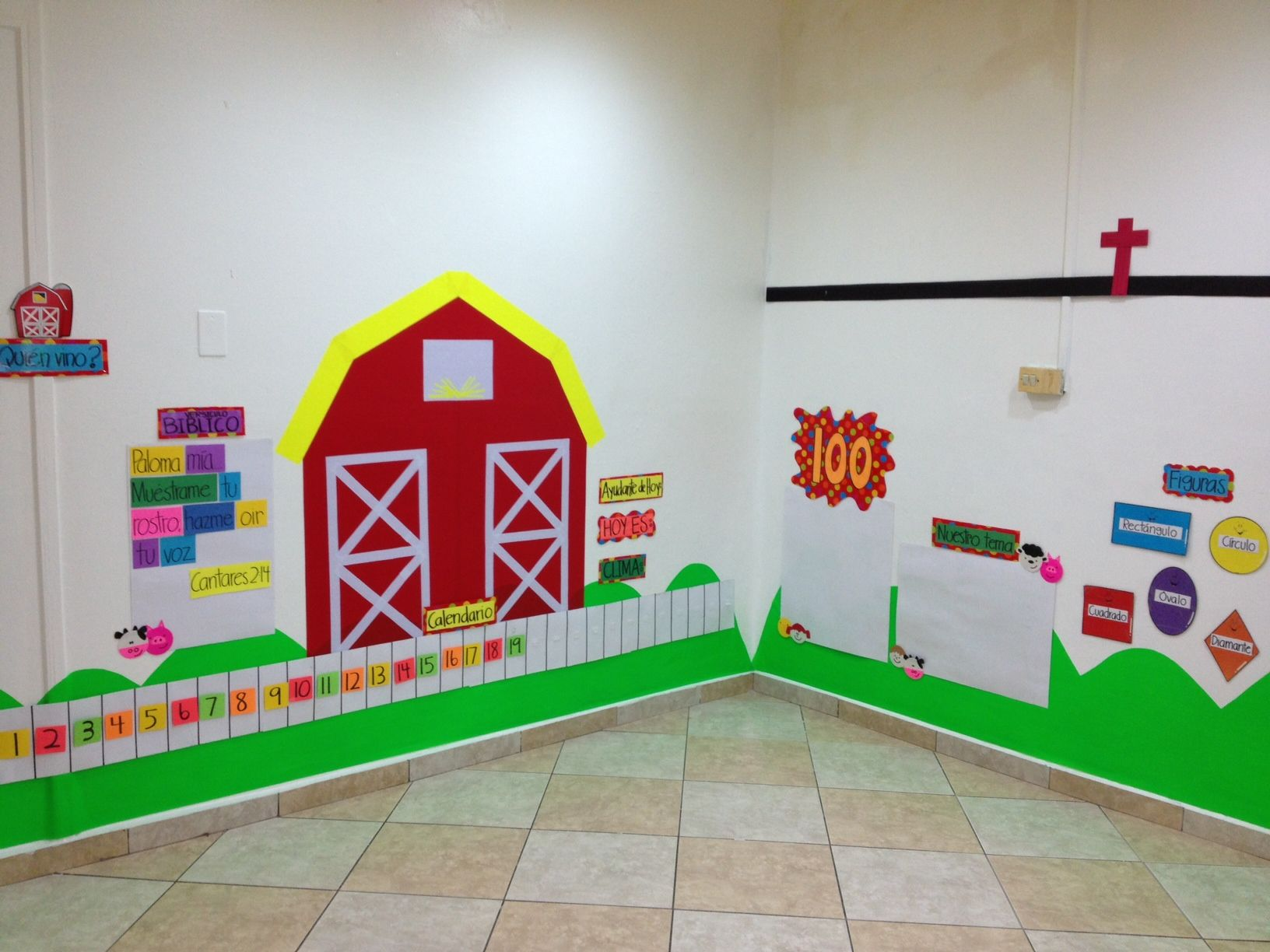 Classroom Board Decoration Ideas For Kindergarten : Farm theme decoration classroom ideas