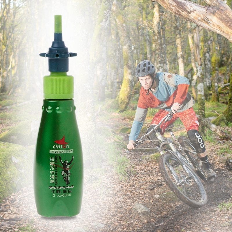 60ml Dry Lubricant Bicycle Chain Lubricating Oil Bicycle Chain Repair Tools Bike Repair Stand Bicycle Pictures