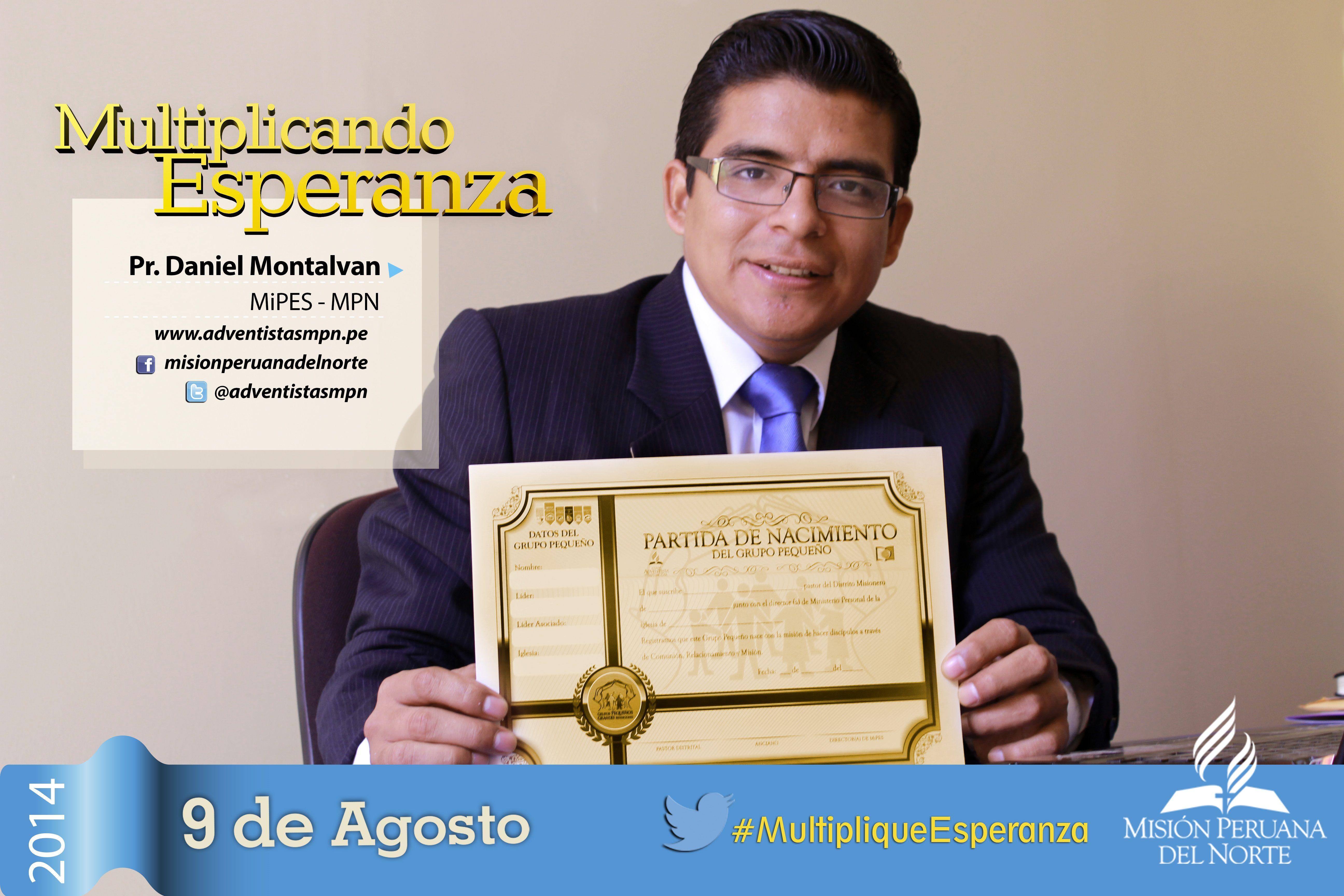 Participa este 9 de Agosto de #MultipliqueEsperanza