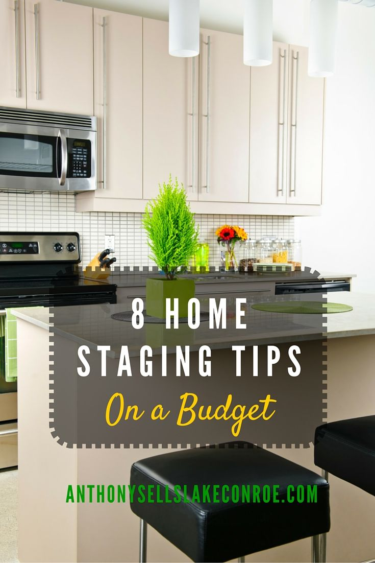 8 Home Staging Tips on a Budget | Stage, Budgeting and Real estate