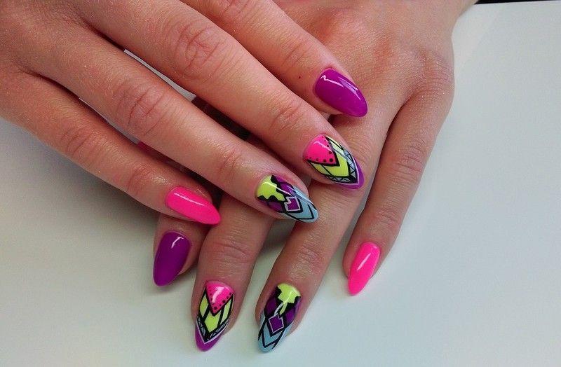 Galeria Fiolet Studio Manicure Hybrydowy Rzeszów Stylizacja