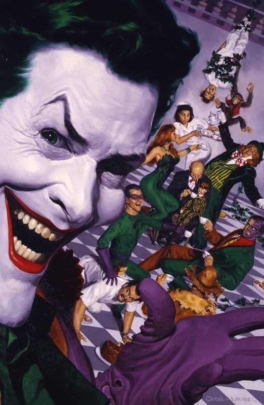 Official Glen Orbik Website - DC Comics/Batman Shadow of the Bat #81 *