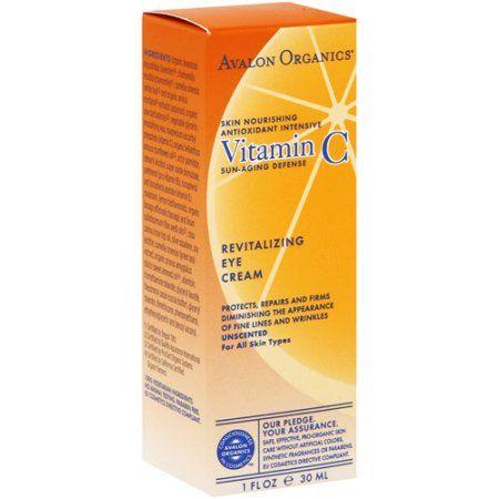 Avalon Organics Intense Defense with Vitamin C Eye Cream, 1.0 OZ, Multicolor