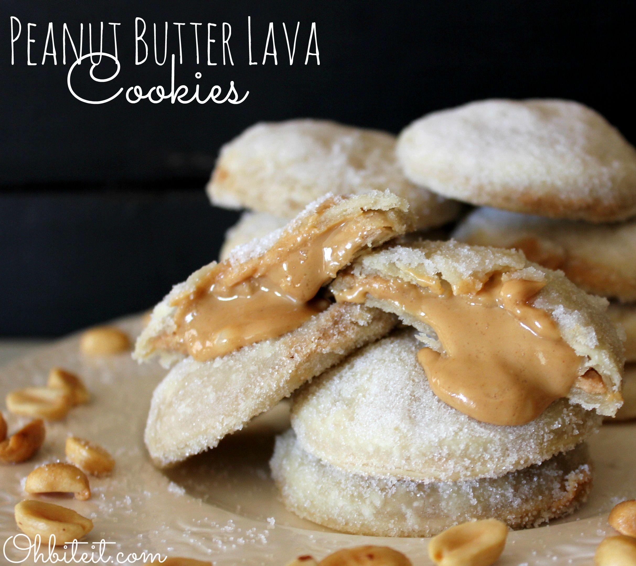 ~Peanut Butter Lava Cookies!