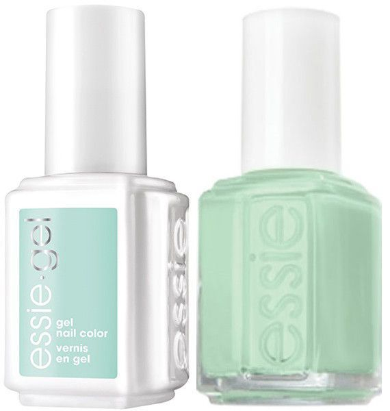 Essie Gel Fashion Crowd #5002 + Matching Lacquer Mint Candy Apple #702