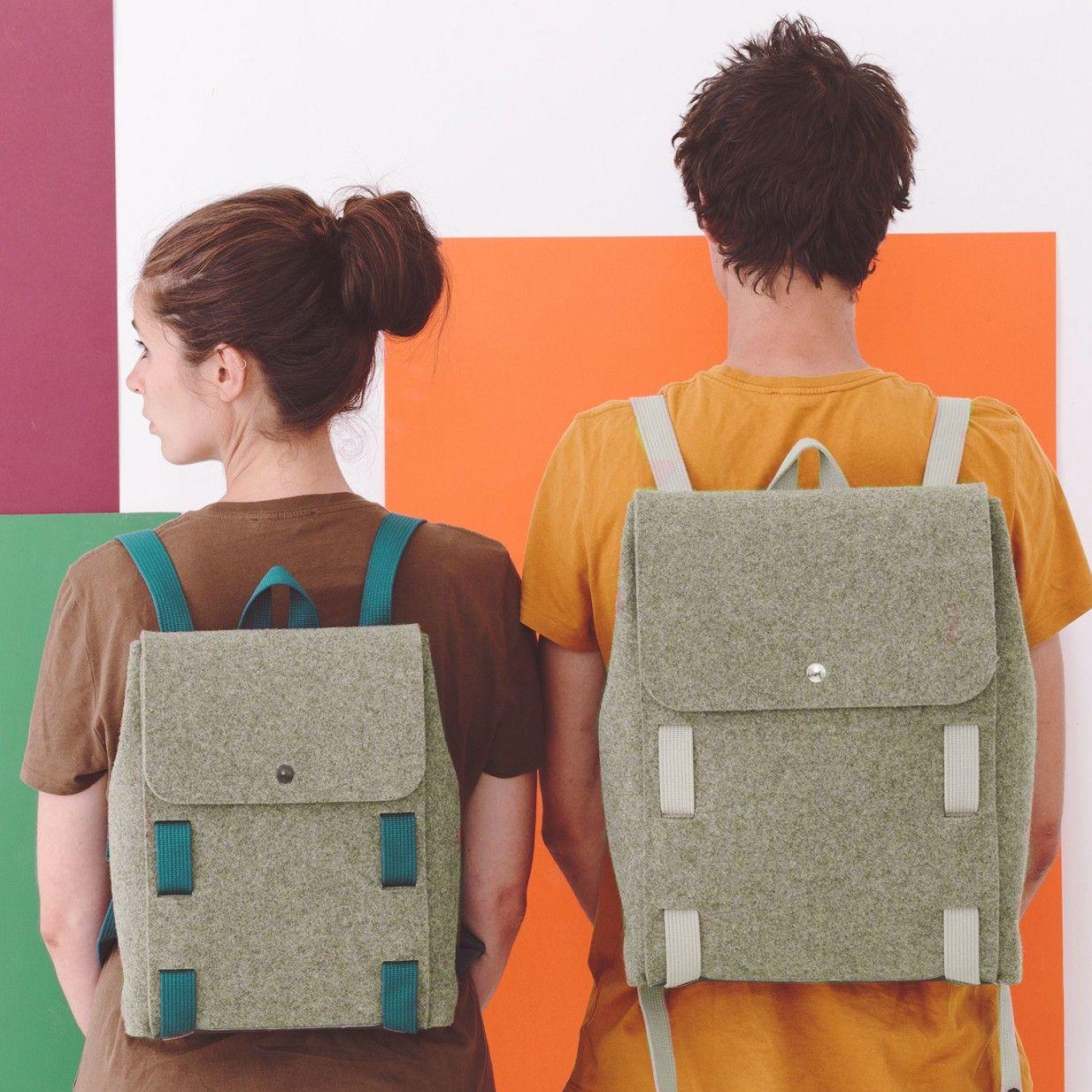 5dd92afba28f2 Lasso Backpack - Beige Blue