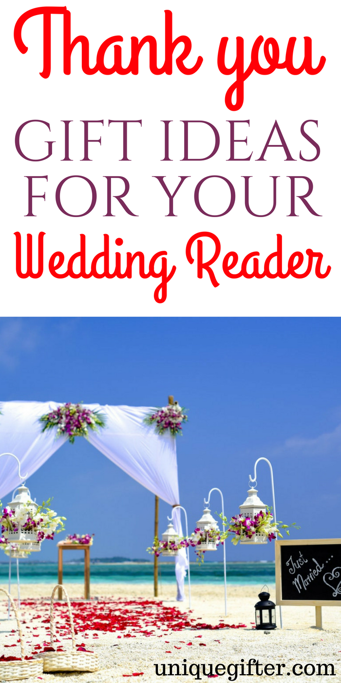 Thank You Gift Ideas For Your Wedding Reader Party Gifts Presents