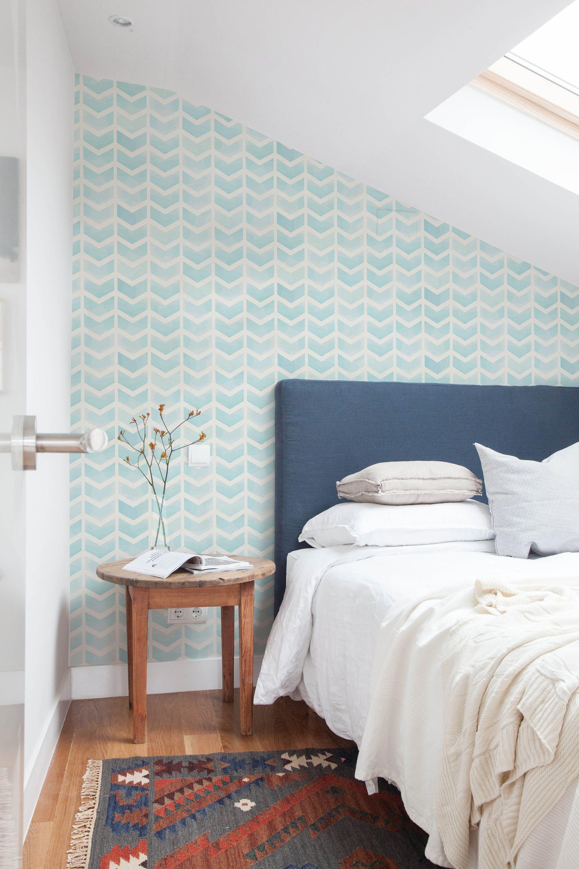 Herringbone Wallpaper Removable Wallpaper Nursery Decor Etsy Herringbone Wallpaper Home Decor Bedroom Removable Wallpaper Nursery