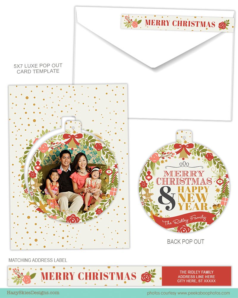 Christmas Holiday Card Templates For Photographers Photoshop Templates Holiday Card Template Photoshop Christmas Card Template Free Holiday Card Templates