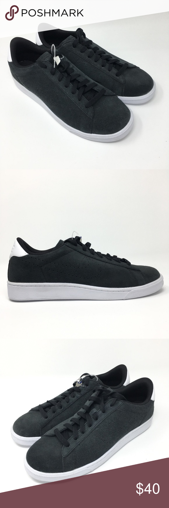 buy popular 16151 f51ab Nike Tennis Classic CS Suede sneaker 9.5 Nike Tennis Classic CS Suede  829351-002 Black