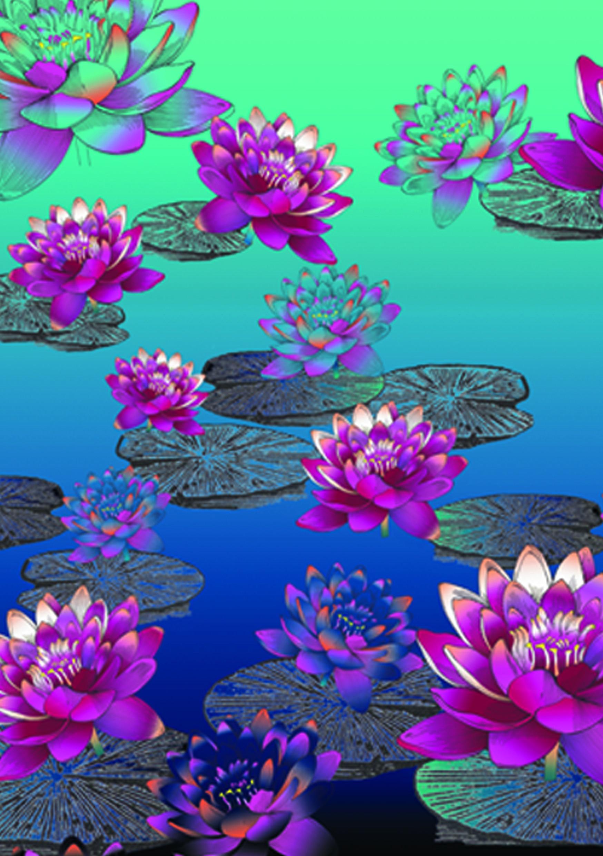 phone wallpaper plants handyhintergrundbild Lotus cell