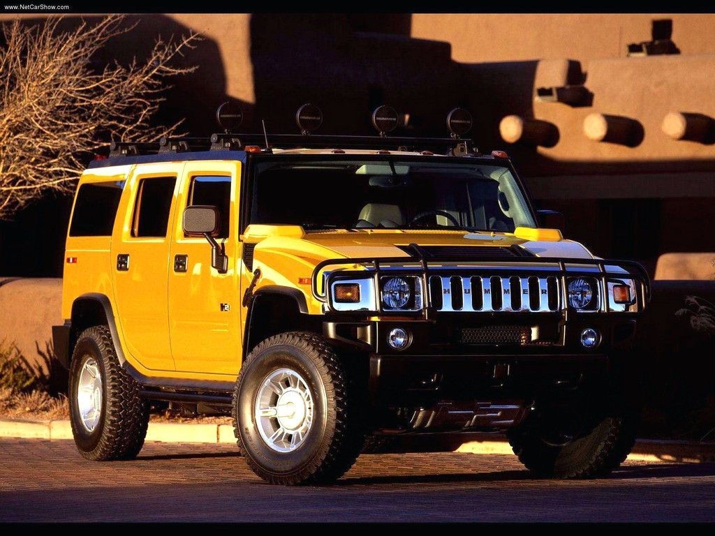 The hummer h2 is an suv and sut that was marketed by general motors under the
