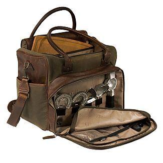 Fancy - Shop Meehan - Utility Bag & Bar Rollup - Waxwear Rangertan   Moore and Giles Inc.