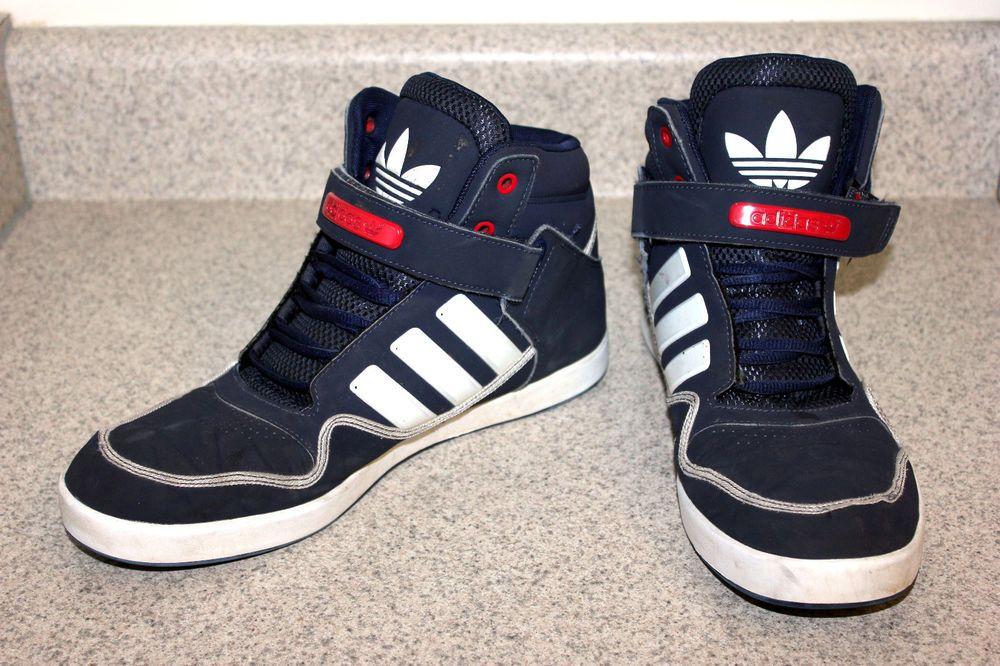 Adidas Originals AR 2.0 Mens High Top, Blue White Red Sz 10 Shoes Sneakers  Skate