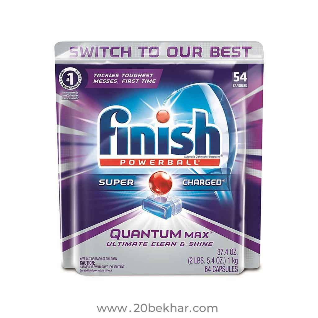 Finish Quantum Dishwasher Tablets Pack Of 54 Dishwasher Tabs Dishwasher Detergent Dishwasher Tablets