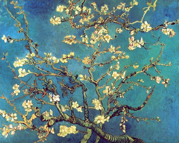 Carte da parati per tutti gli interni ❤ più di 8.000 motivi ❤ tnt ❤ fotomurali. Rami Di Mandorlo In Fiore 1890 Van Gogh Opere D Arte Su Tela Listino Prodotti Digitalpix Canvas Art Artist P Arte Di Van Gogh Van Gogh Mandorle